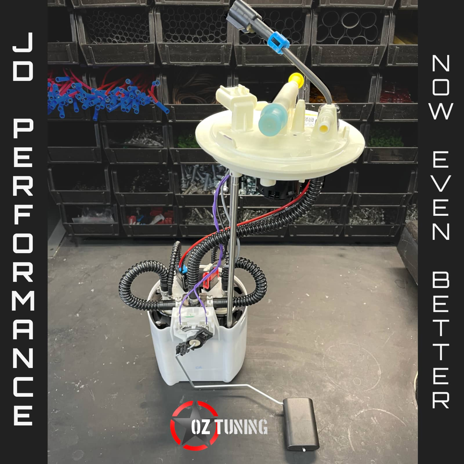DUAL-PUMP FROM JD PERFORMANCE SOLUTIONS. DROP-IN RETURNLESS FUEL MODULE
